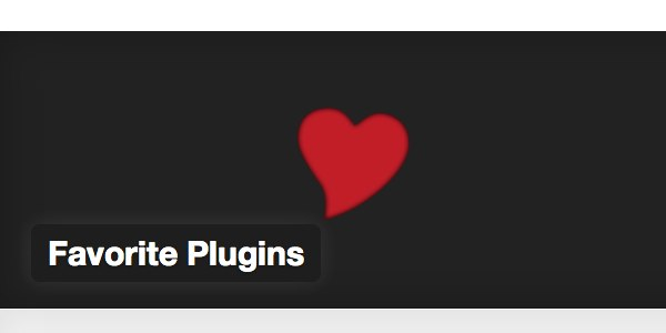 WordPress Favorite Plugins のロゴ