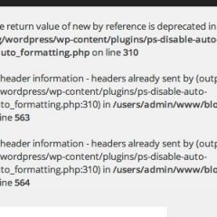 PS Disable Auto Formattingで「Deprecated」エラーが出た時の対処法