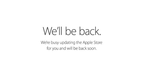 We'll be back soon 英語
