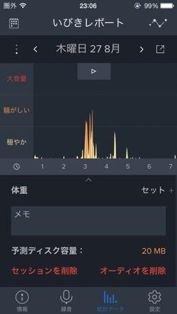 いびき 録音 アプリ