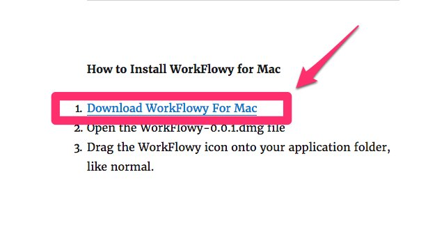 Download WorkFlowy For Mac